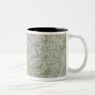 Mapa de Suiza Tazas De Café