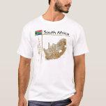 Mapa de Suráfrica + Bandera + Camiseta del título