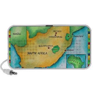 Mapa de Suráfrica Mini Altavoces