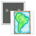 Mapa de Suramérica 2 Pin