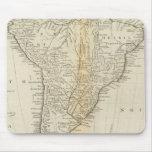 Mapa de Suramérica 2 Tapete De Ratón