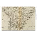 Mapa de Suramérica 2 Tarjeta De Felicitación