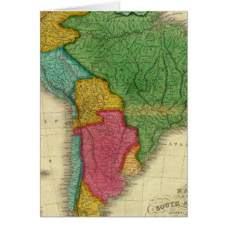 Mapa de Suramérica 3 Felicitaciones