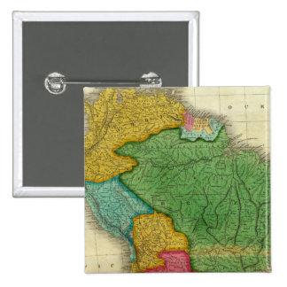 Mapa de Suramérica 3 Pin