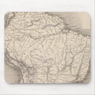 Mapa de Suramérica 4 Alfombrillas De Raton