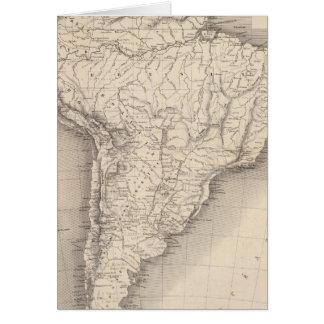 Mapa de Suramérica 4 Felicitación