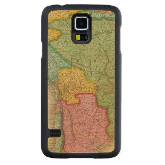 Mapa de Suramérica 4 Funda De Galaxy S5 Slim Arce