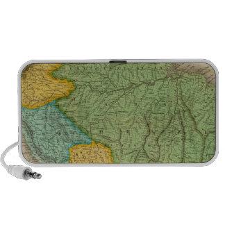 Mapa de Suramérica 4 iPhone Altavoz