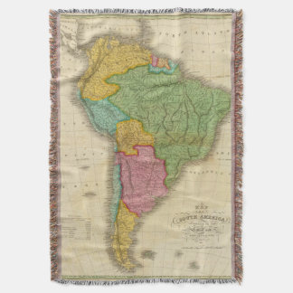 Mapa de Suramérica 4 Manta