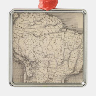 Mapa de Suramérica 4 Ornamentos De Reyes