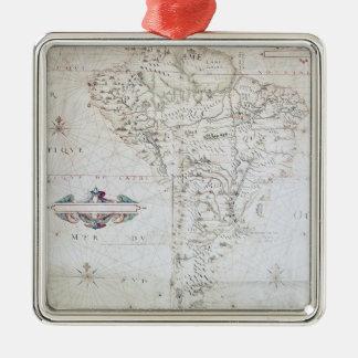 Mapa de Suramérica Ornamentos De Reyes Magos