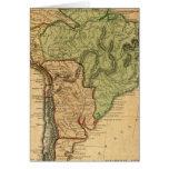 Mapa de Suramérica por Worcester Felicitaciones