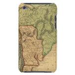 Mapa de Suramérica por Worcester Funda Para iPod