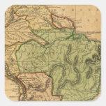 Mapa de Suramérica por Worcester Pegatina