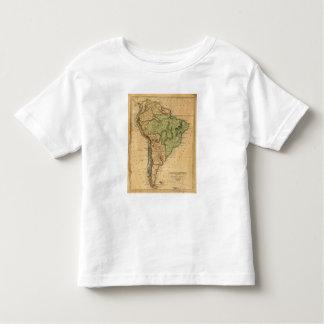 Mapa de Suramérica por Worcester Playera De Bebé