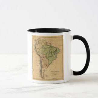 Mapa de Suramérica por Worcester Taza