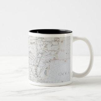 Mapa de Suramérica Taza De Café