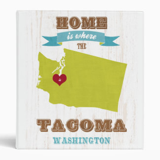 Mapa de Tacoma Washington - casero es donde está