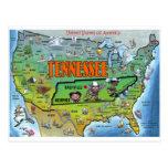 Mapa de Tennessee los E.E.U.U.