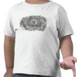 Mapa de Tenochtitlan Camisetas