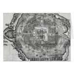 Mapa de Tenochtitlan Felicitacion
