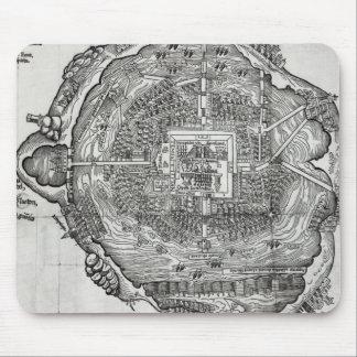 Mapa de Tenochtitlan Mouse Pads
