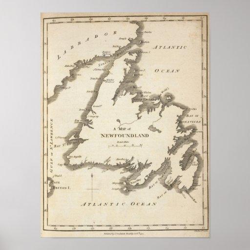 Mapa de Terranova Impresiones