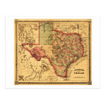 Mapa de TexasPanoramic Postal