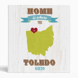 Mapa de Toledo Ohio - casero es donde está el cor