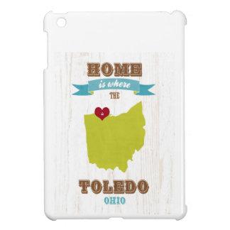 Mapa de Toledo, Ohio - casero es donde está el cor