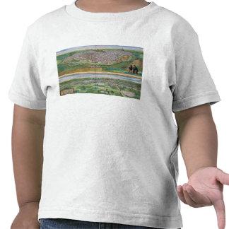 Mapa de Toledo y de Valladolid, de 'Civitates Orbi Camisetas