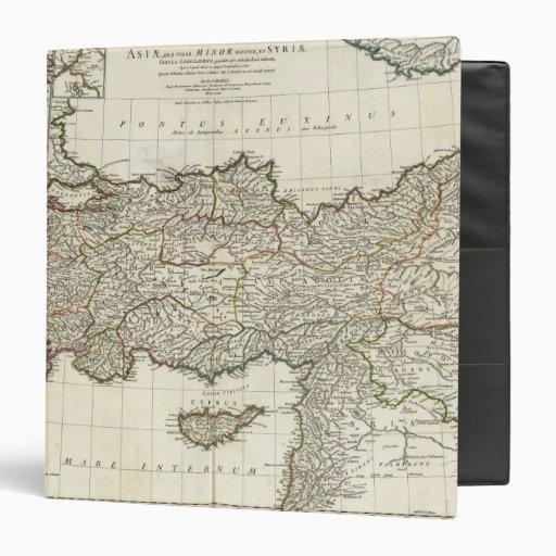 """Mapa de Turquía Carpeta 1 1/2"""""""