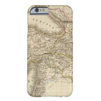 Mapa de Turquía Siria Funda Barely There iPhone 6