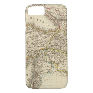 Mapa de Turquía Siria Funda iPhone 7
