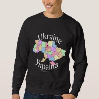Mapa de Ucrania Sudaderas Encapuchadas