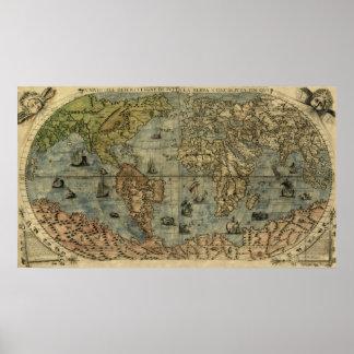 Mapa de Universale Descrittione Posters