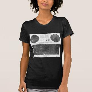 Mapa de USGS de la luna Callisto de Júpiter Camisetas