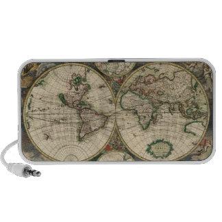 Mapa de Viejo Mundo iPod Altavoz