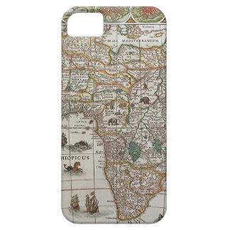 Mapa de Viejo Mundo antiguo de África, C. 1635 iPhone 5 Carcasas