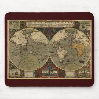 Mapa de Viejo Mundo antiguo Tapete De Raton