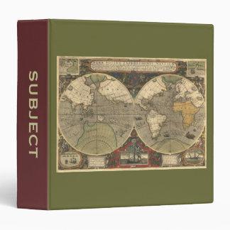 """Mapa de Viejo Mundo Carpeta 1 1/2"""""""