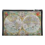 Mapa de Viejo Mundo con las ilustraciones