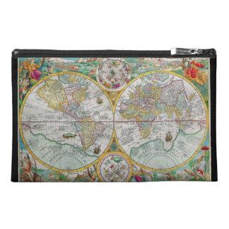 Mapa de Viejo Mundo con las ilustraciones colorida