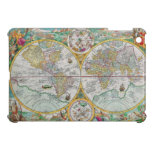 Mapa de Viejo Mundo con las ilustraciones colorida iPad Mini Carcasas