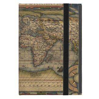 mapa de Viejo Mundo de la antigüedad del caso del iPad Mini Cárcasas
