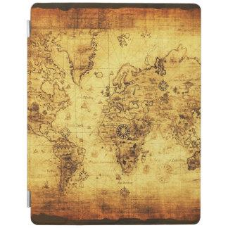 Mapa de Viejo Mundo del vintage Cover De iPad