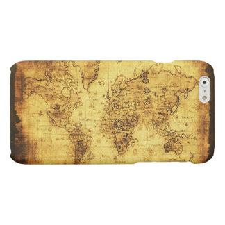 Mapa de Viejo Mundo histórico antiguo