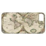 Mapa de Viejo Mundo iPhone 5 Funda