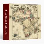Mapa de Viintage 1874 de la impresión africana ant