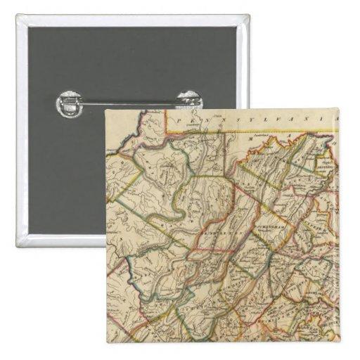 Mapa de Virginia Pin